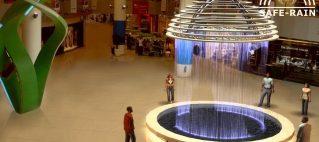 Phối cảnh 3D màn nước nghệ thuật Union