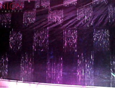 Digital water curtain for Danang hotel