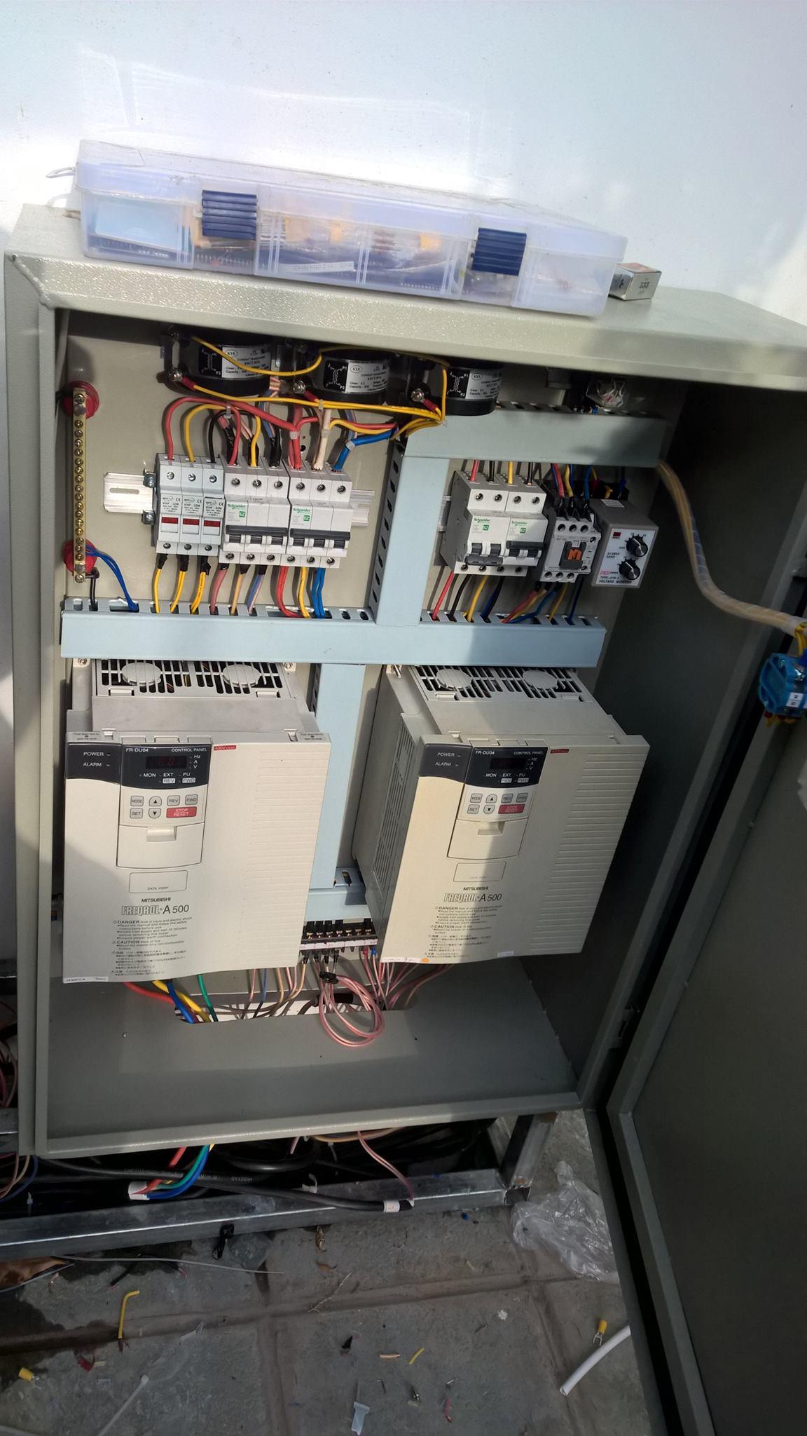 Tủ diue6u2 khiển hệ thống