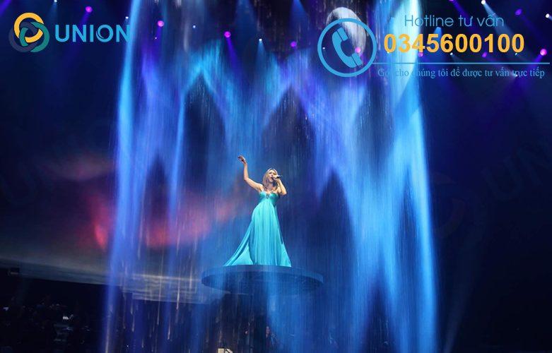 Cho thuê nhạc nước nghệ thuật đẹp cho sân khấu sự kiện chuyên nghiệp