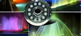 Đèn LED dưới nước đổi màu tự động là gì?